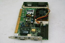 Industrial Sbcpcipcpcisa-158v Ss Computer P-mmxcpu200mhz Tested Working