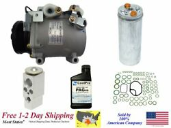 New Ac Ac Compressor Kit For 2000-2003 Galant 2.4l Engines