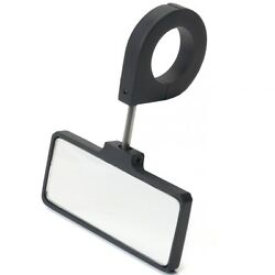 Dune Buggy Parts Rear View Mirror For 1.50 Inch Tubing Black Anodized