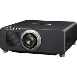 NEW Panasonic PT-DZ870UK 1-Chip 8500 Lumens DLP Projector (with Lens Black)