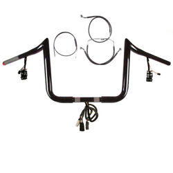 1 1/4 Bblack 13 Primeape Prewired Kit 2008-2013 Harley Road King Abs And Cruise