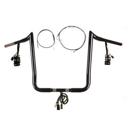 1 1/4 Bblack 16 Primeape Prewired Kit 2008-2013 Harley Electra Glide Abs Cruis