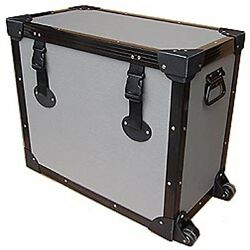 And039tuffboxand039 Light Duty Road Case W/dolly Wheels For Blackstar Ht Metal 112 1x12 50