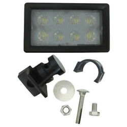 Re330061 Jd And Ci Tractor Led Cab Light And Bracket Kit Side Mount 1700 Lumens