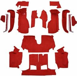 Carpet For 92-93 Chevy Corvette Convertible, Complete Kit With 1 Latch Cutout