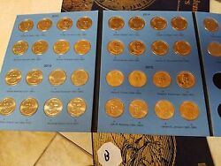 Volume 2 Pos B Complete Set Pandd 2012-2016 Presidential 1 Gold Dollar 38 Coins