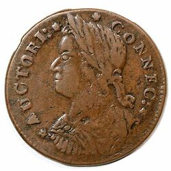1787 M 33.5-t.2 R-5 Connecticut Colonial Copper Coin Ex Ford - Boyd - Ryder