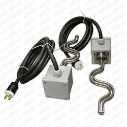11,000 Watt Moonshine Still Controller Electric Heating Elements Tri Clamp Boxes