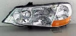 Left Side Replacement Headlight Assembly For 2002-2003 Acura Tl