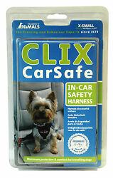 Clix Car Safe Dog Harness XS Provides Safety and Comfort For Dogs in The Car XS