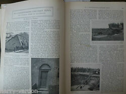 Northwich Disappearing Cheshire Town Subsidence Antique 1898 Illustrated Article