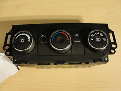 06 07 08 CHEVY IMPALA TEMPERATURE CLIMATE HEATER CONTROL SINGLE ZONE OPT C67