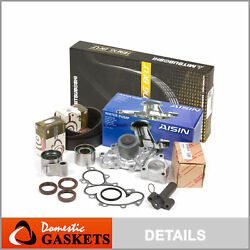 Mitsuboshi Timing Belt Aisin Water Pump W/o Pipe Fit 95-04 Toyota 5vzfe