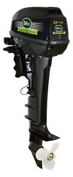 Elco Electric Outboard - 14hp - Remote With Long Shaft