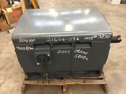 Westinghouse 300 HP LAC Induction  Motor MHSW1 Frame 5808-L  Rpm 886 4160 V