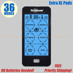 36 Mode Tens Pms Fda Cleared Mini Electric Digital Pulse Massager Therapy Xl