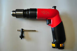 Sioux 1454esr Air Operated 3/8 Inch Drill Reversible Variable Speed Made In Usa
