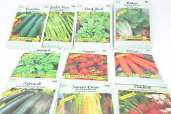 Seeds 20 Vegetable Packs Variety High Quality Seeds Lot 2015