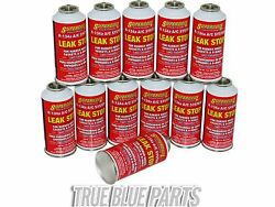 AC Stop Leak CASE OF 12 R-134A Leak Sealer AC Leak Stop Seal AC Leaks 3oz Can