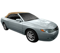 Fits Toyota Solara Convertible Top With Heated Glass Window 1999-2003 Tan Cloth