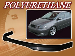 FOR 05-06 TOYOTA COROLLA T-R POLY URETHANE PU FRONT BUMPER LIP SPOILER