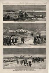The Sioux War - Powder River - Fort Reno - Fort Fetterman - 1876