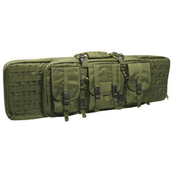 Large Tactical Rifle Case Padded Gun Bag Molle Airsoft Shooting Hunting Olive Od
