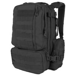 Condor Convoy Outdoor Molle Pack Laptop Carrier Police Hydration Backpack Black