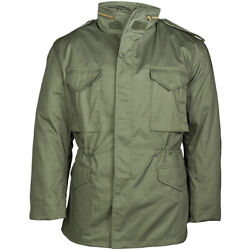 Classic M65 Army Combat Field Jacket Military Patrol Style Mens Coat Olive S-5xl