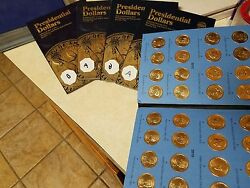 Ultimate Presidential Gold Dollar Complete 156 Coin Set Pandd Mint Vol 1and2 Pos Aandb