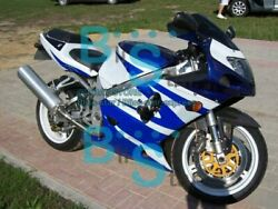 Blue White Injection Fairing + Tank Cover Fit Gsxr 600 750 2001-2003 127