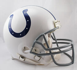 Indianapolis Colts Nfl Riddell Pro Line Authentic Vsr-4 Football Helmet