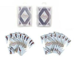 Transparent Cowboy And Cowgirl Playing Cards Welcome To Las Vegas Sign 24 Decks