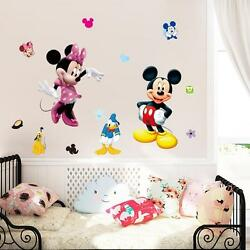 Mickey amp; Minnie Removable Wall Stickers