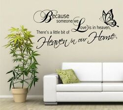 Wording Removable Wall Stickers