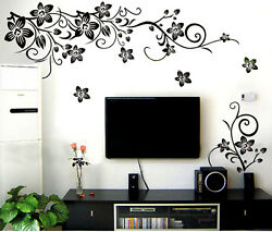 Flowers Removable Wall Stickers
