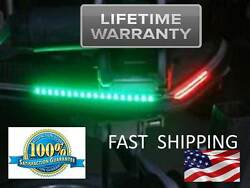 Red And Green Boat Navigation Lights - Front Lighting Led --- Bass And Fishing Boat