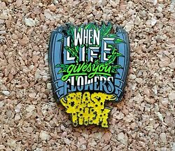 1 Dabbers Unite When Life Gives You Flowers Hat Pin - Heady Pin