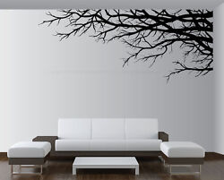 Large Vinyl Decor Sticker Wall Mural Art Tree Top Branches Living Room 1201