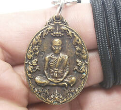 Thai Amulet Buddha Pendant Necklace Lp Koon As You Wish Coin Multiply Money Rich