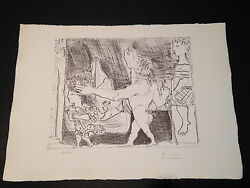 Picasso Suite Vollard Bloch 223 Limited Edition Picasso Family Authorized.
