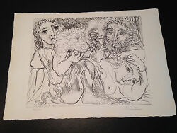 Picasso Suite Vollard Bloch 200 Limited Edition Picasso Family Authorized.