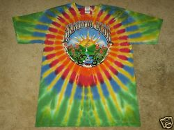 Grateful Dead Waterfall Sunrise M L XL 2XL 3XL 4XL 5XL Tie Dye T-Shirt