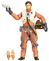 Star Wars The Force Awakens The Black Series 6-inch X-wing Pilot Poe Dameron