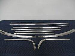 1954 Buick Special Wagon Complete Body Side Trim Moulding Set