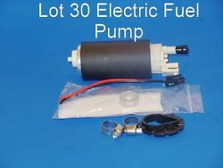 Lot 30 E3240 Electric Fuel Pump W/strainer And Installation Kits Fitsbmw And Gm