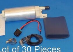 Lot 30 Pcs Electric Fuel Pump W/strainer And Installation Kits E3265 Fits Gm