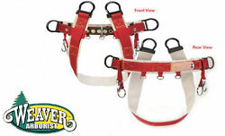 Weaver Tree Climbing Saddle WLC-100 4 Dee Design For More Positioning Options