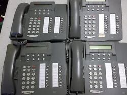 Lucent 108163817 6416d01a-323 Lot Of 4 Office Phones Free Shipping