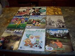 9 Old Disnesy Files Great Condition No Reserve....cheap